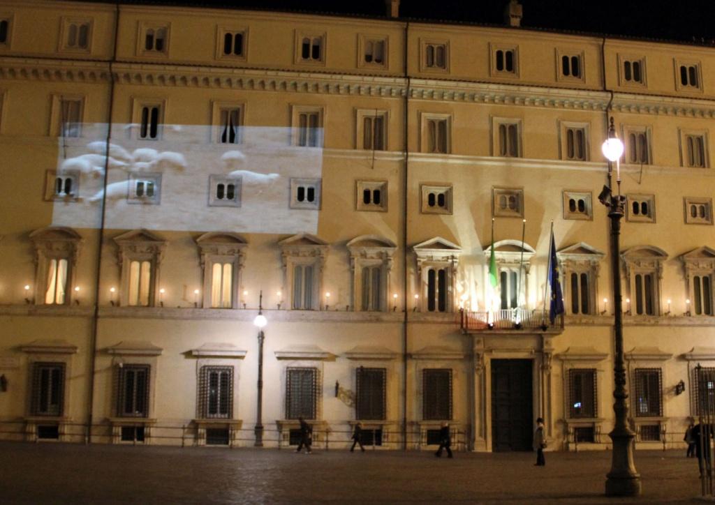 Pecore a Palazzo Chigi